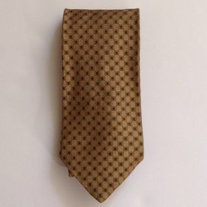 Brooks brothers mustard necktie